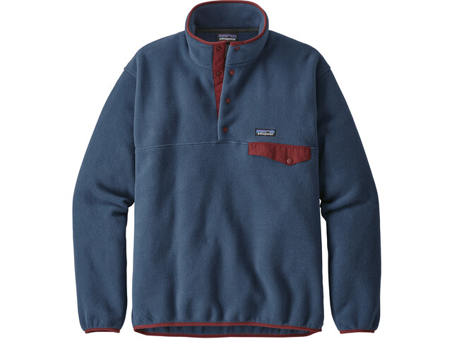Patagonia Lightweight Synchilla Snap-T Pullover Hombre, stone blue